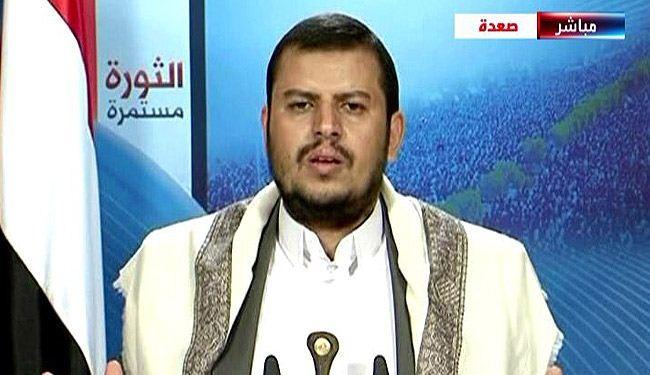 السید عبد الملک الحوثی: إذا استمر العدوان السعودی فان کل الخیارات مفتوحه