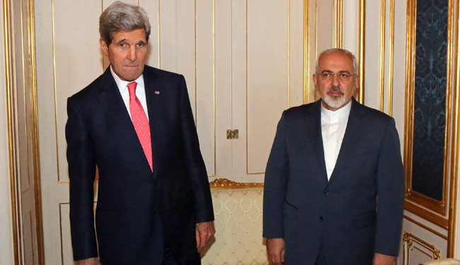 (FILES) US Secretary of State John Kerry and Iranian Foreign Minister Mohammad Javad Zarif