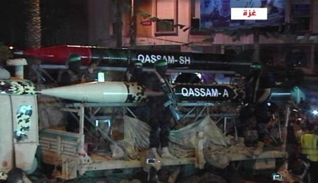 Hamas Officials Announce Equipment with 2 New Missiles