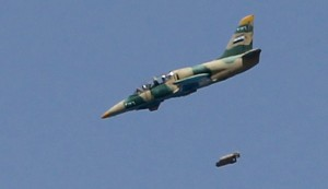 Syrian Jets Pound ISIS Leaders' Meeting in Raqqa