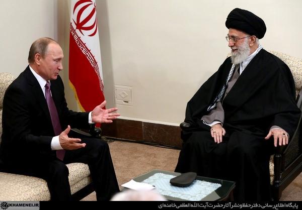 Ayatollah Khamenei Receives Russian President Putin
